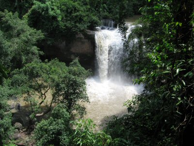 Heo Suwat waterfall from above
